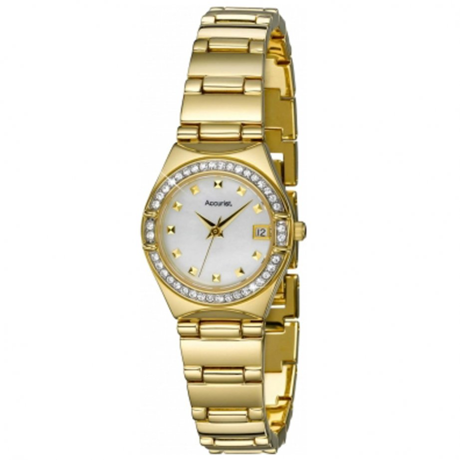 Accurist Watch gold LB1660P | sale Accurist gold watch ...