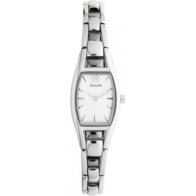 Accurist Ladies Silver Watch LB1038P