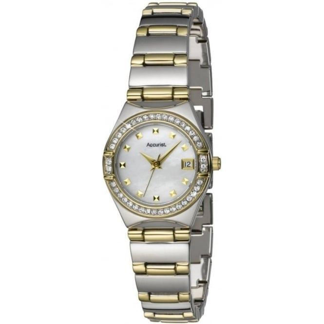 Accurist Stainless Silver Womens Watch LB1661P