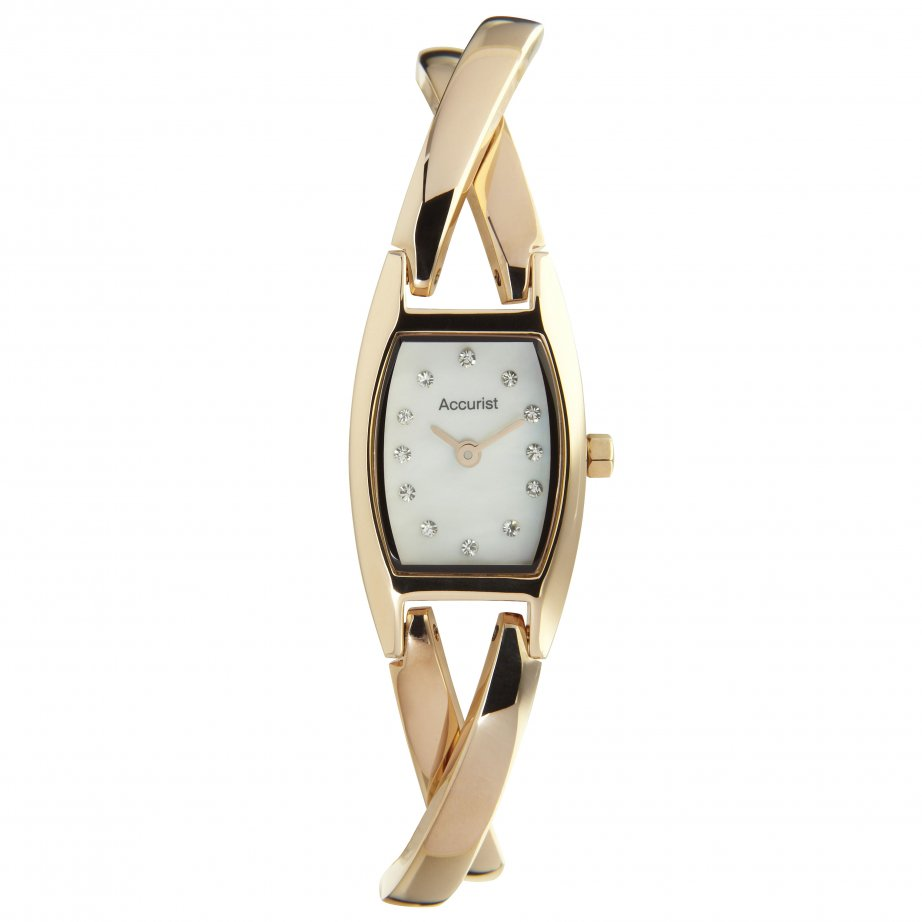 accurist stainless gold tone lb1438 cheapest