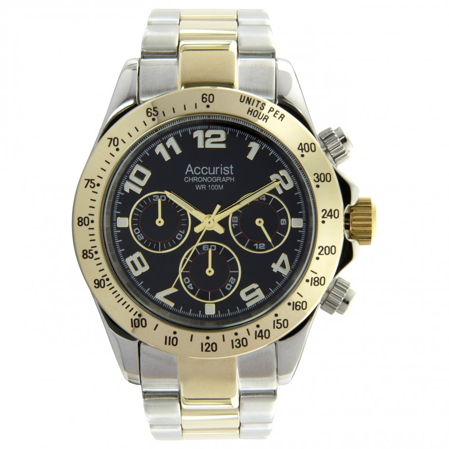 accurist silver chronograph mb981b cheapest