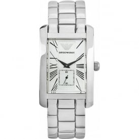 Armani Watches AR0145 Stainless Steel Mens Luxury Watch - Large