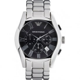 AR0673 Classic Stainless Steel Mens Chronograph Watch