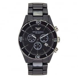 AR1421 Mens Black Ceramica Watch
