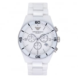 AR1424 Gents White Ceramic Watch