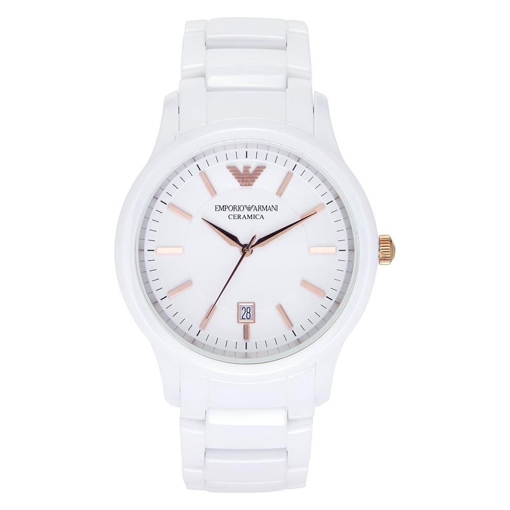 Armani AR1467 White Ceramica Women s Watch is available from Tic watches 3d18db2b48