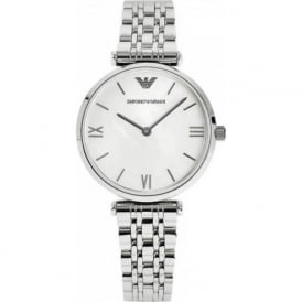 AR1682 Silver Stainless Steel Ladies Watch