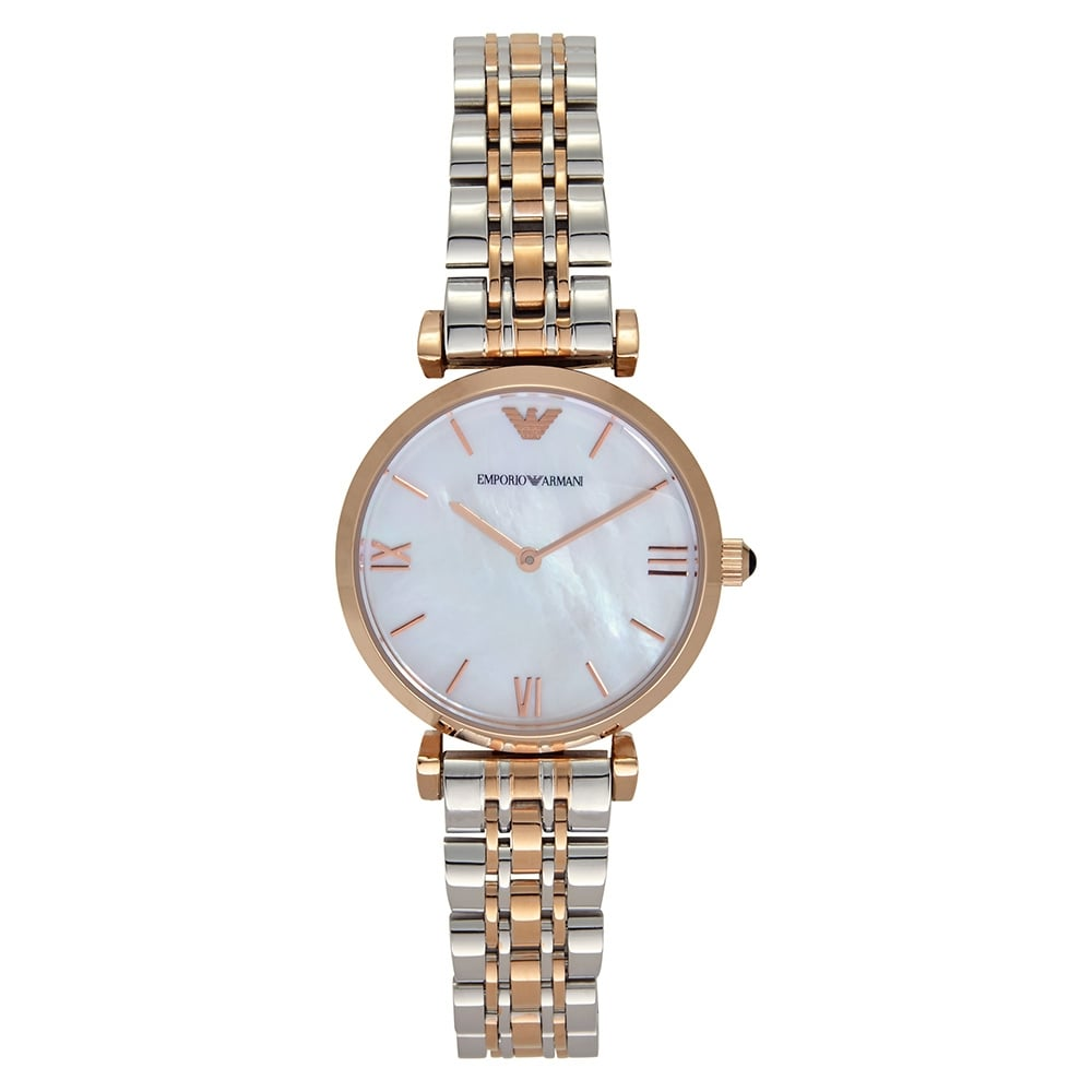 AR1683 ladies Two tone Rose Gold and Silver Watch 450b52c543