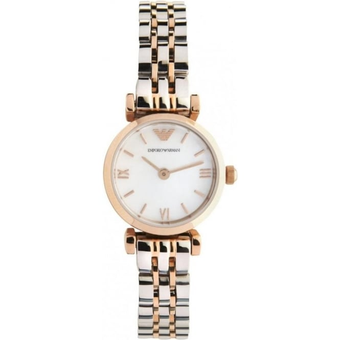 AR1689 Ladies Rose Gold Stainless Steel Watch 000942953