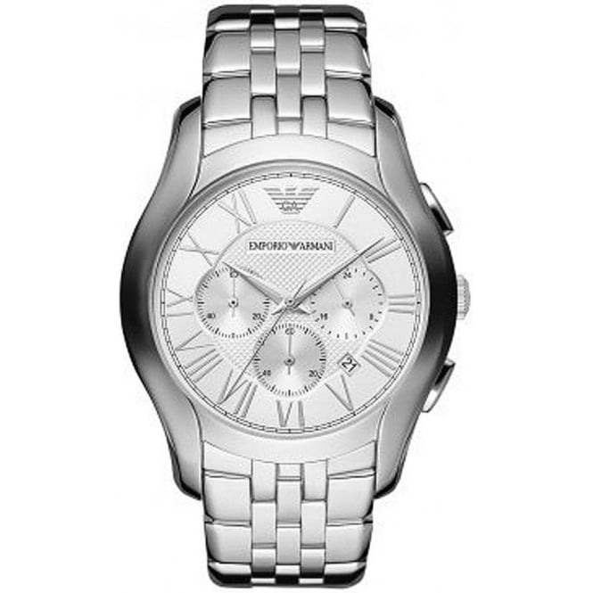 Armani Watches AR1702 Mens Silver Chronograph Watch