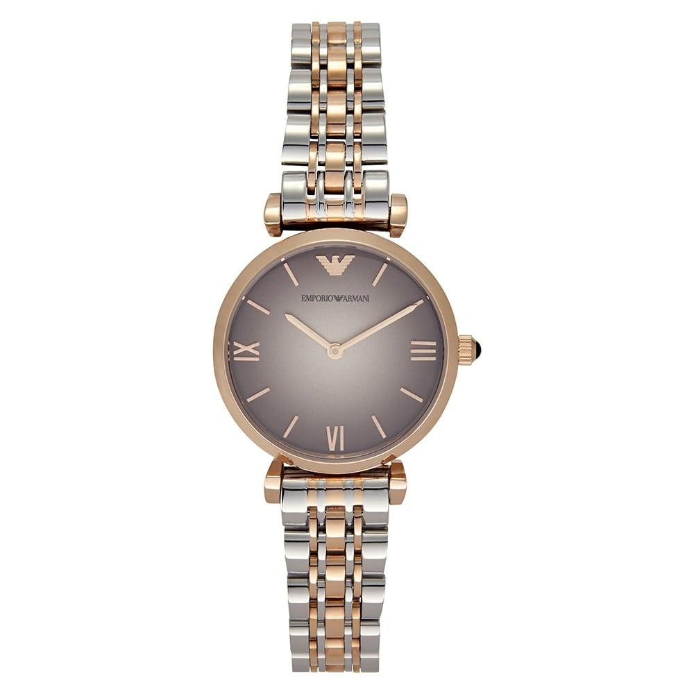 d57c90c2058 AR1725 Stainless Steel  amp  Rose Gold-Tone Ladies Watch
