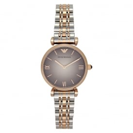 AR1725 Stainless Steel & Rose Gold-Tone Ladies Watch