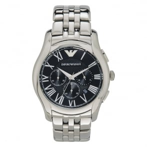 Armani Watches AR1786 Classic Stainless Steel Mens Chronograph Watch