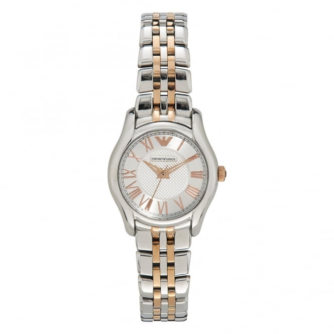 Armani Watches AR1825 Two Tone Stainless Steel Ladies Watch