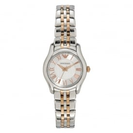 AR1825 Two Tone Stainless Steel Ladies Watch