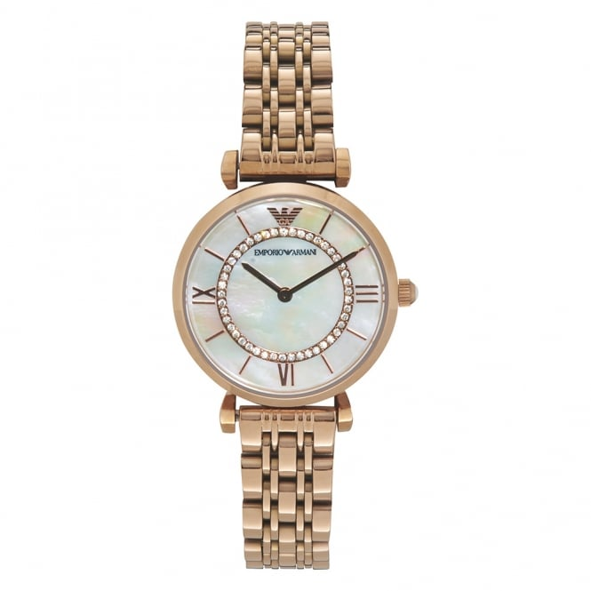 Armani Watches AR1909 Armani Rose Gold Ladies Watch