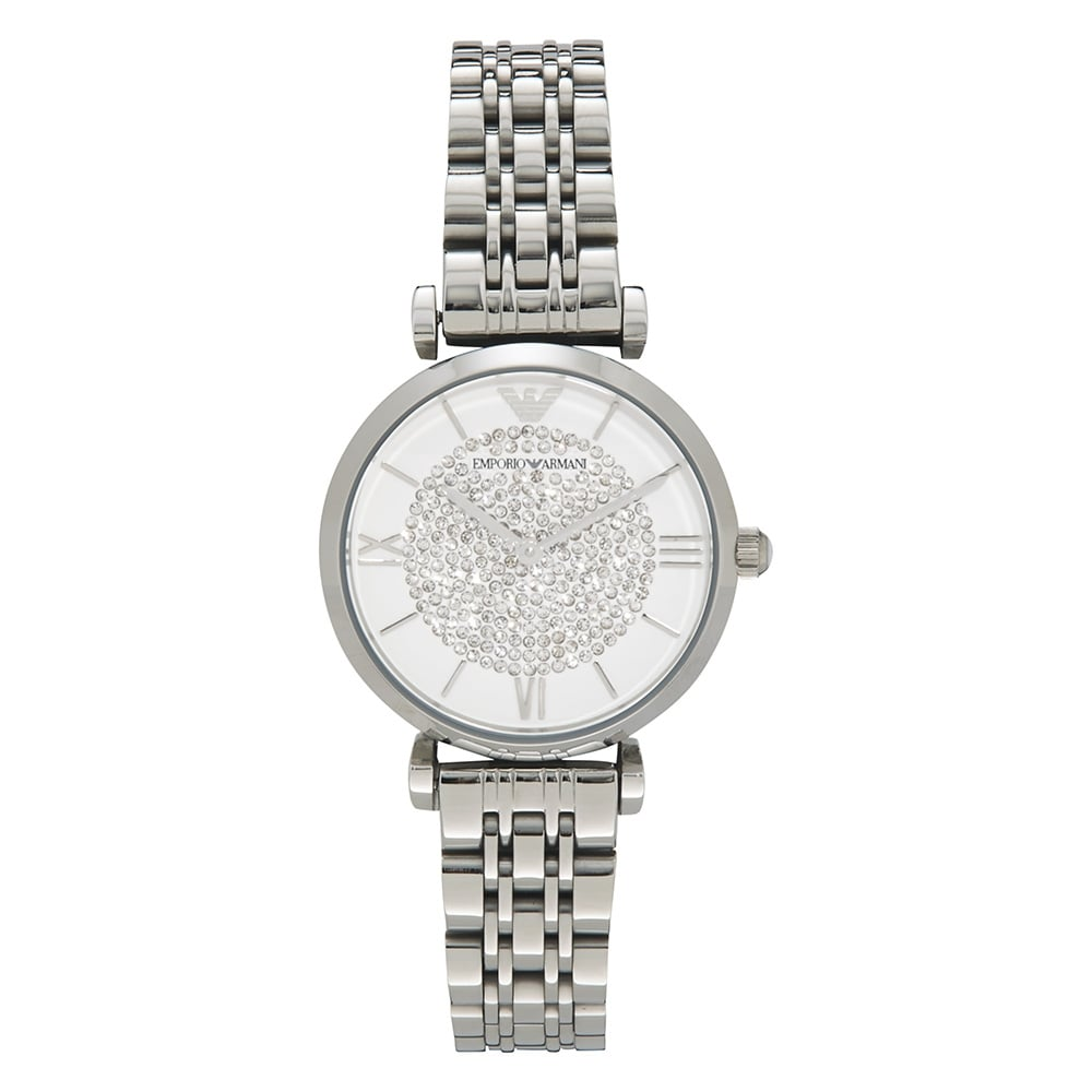 4638587087c2 AR1925 Armani Silver Stainless Steel Ladies Watch available at Tic ...