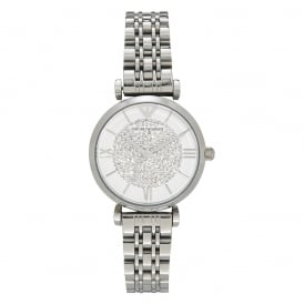 AR1925 Silver Stainless Steel Ladies Watch