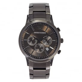 AR2454 Gents Grey Stainless Steel Watch