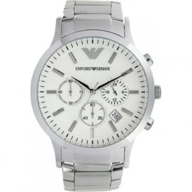 AR2458 Gents Silver Stainless Steel Watch