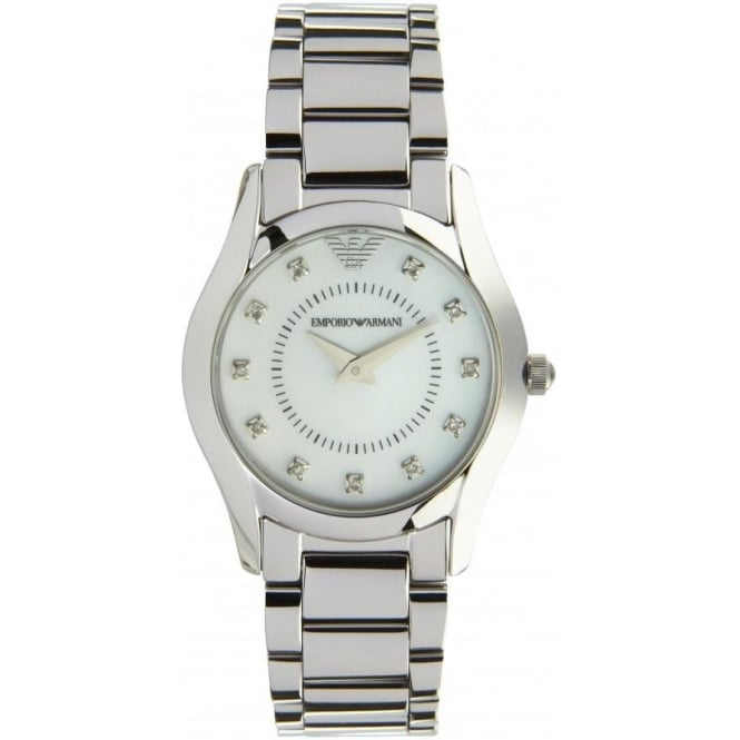 Armani Watches AR3168 Emporio Armani Stainless Steel Ladies Watch