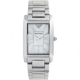 Armani Watches AR3169 Ladies Silver Stainless Steel Watch