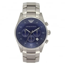 AR5860 Gents Silver Stainless Steel Watch