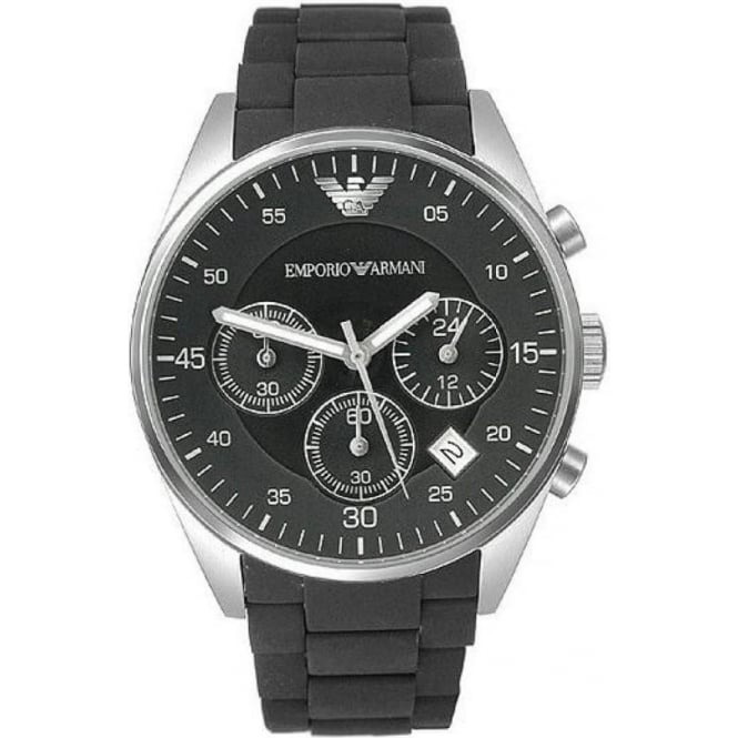 Armani Watches AR5868 Armani Black Stainless Steel Men's Watch