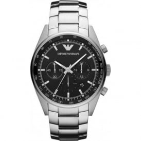 Armani Watches AR5980 Mens Stainless Steel Chronograph Watch
