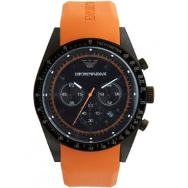 Armani Watches AR5987 Mens Chronograph Silicone Watch