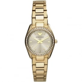 Armani Watches AR6031 Ladies Gold-Tone Stainless Steel Watch