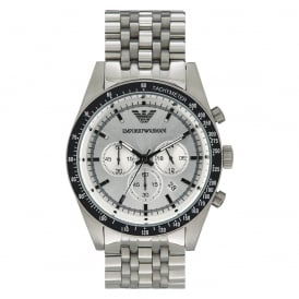 AR6073 Men's Sportivo Silver Stainless Steel Watch