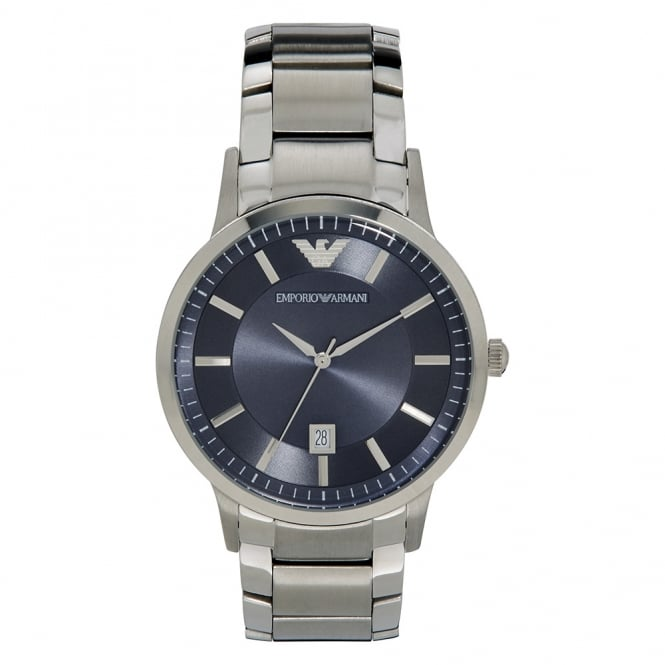 Armani Watches Armani Mens Blue Steel Watch AR2477
