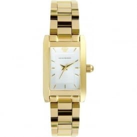 Armani Watches AR0360 Ladies Gold Stainless Steel Watch