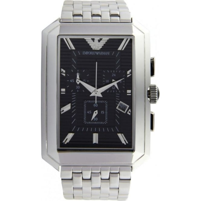 Armani Watches AR0474 Stainless Silver Mens Watch