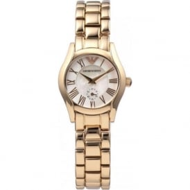 Armani Watches AR0699 Rose Gold Tone Stainless Steel Ladies Watch