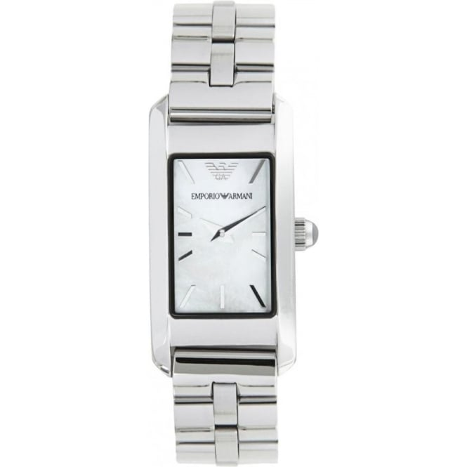 Armani Watches AR0733 Ladies Silver Stainless Steel Watch