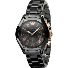 Armani Watches AR1411 Black Ceramica Women's Watch