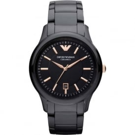 Armani Watches AR1466 Black Ceramica Men's Watch