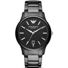 Armani Watches AR1475 Men's Black Ceramica Watch
