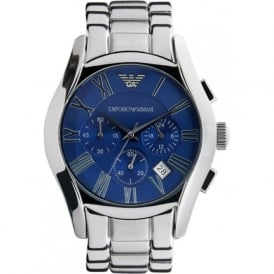 AR1635 Mens Silver Chronograph Watch