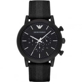 Armani Watches AR1948 Grey & Black Nylon Mens Watch