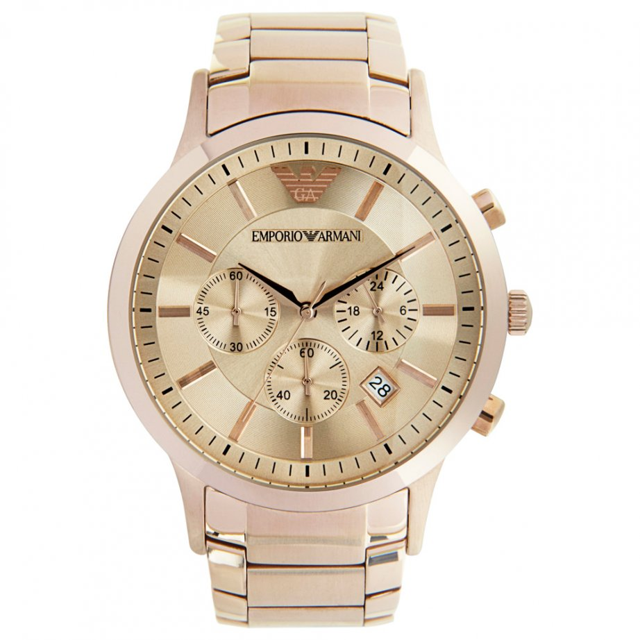 emporio armani ar2452 mens gold cheapest