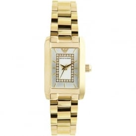 Armani Watches AR3172 Ladies Gold Stainless Steel Watch