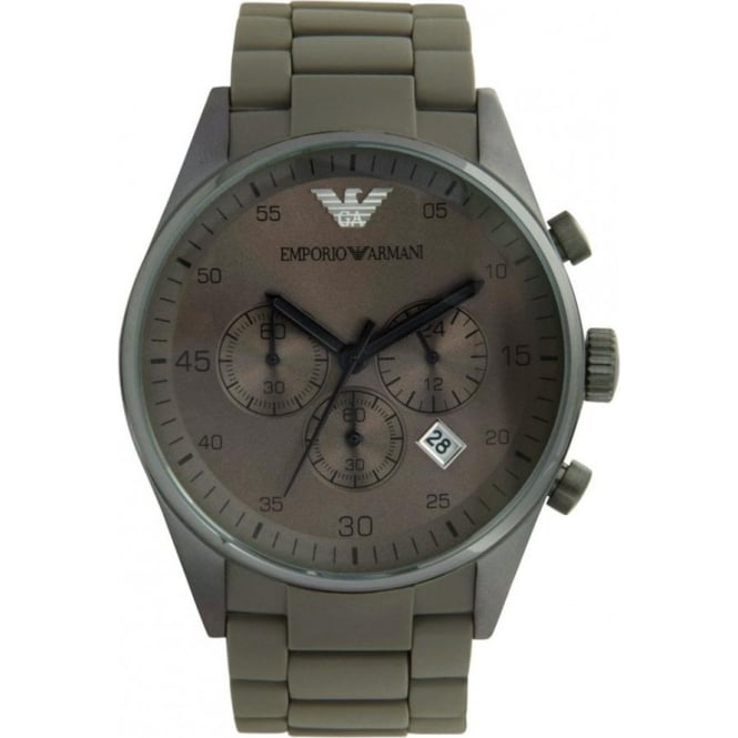 Armani Watches AR5950 Gents Khaki Stainless Steel Watch