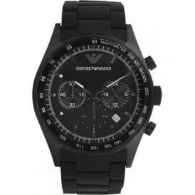 Armani Watches AR5981 Mens Black Chronograph Watch