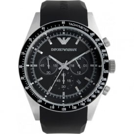 Armani Watches AR5985 Mens Black Chronograph Watch