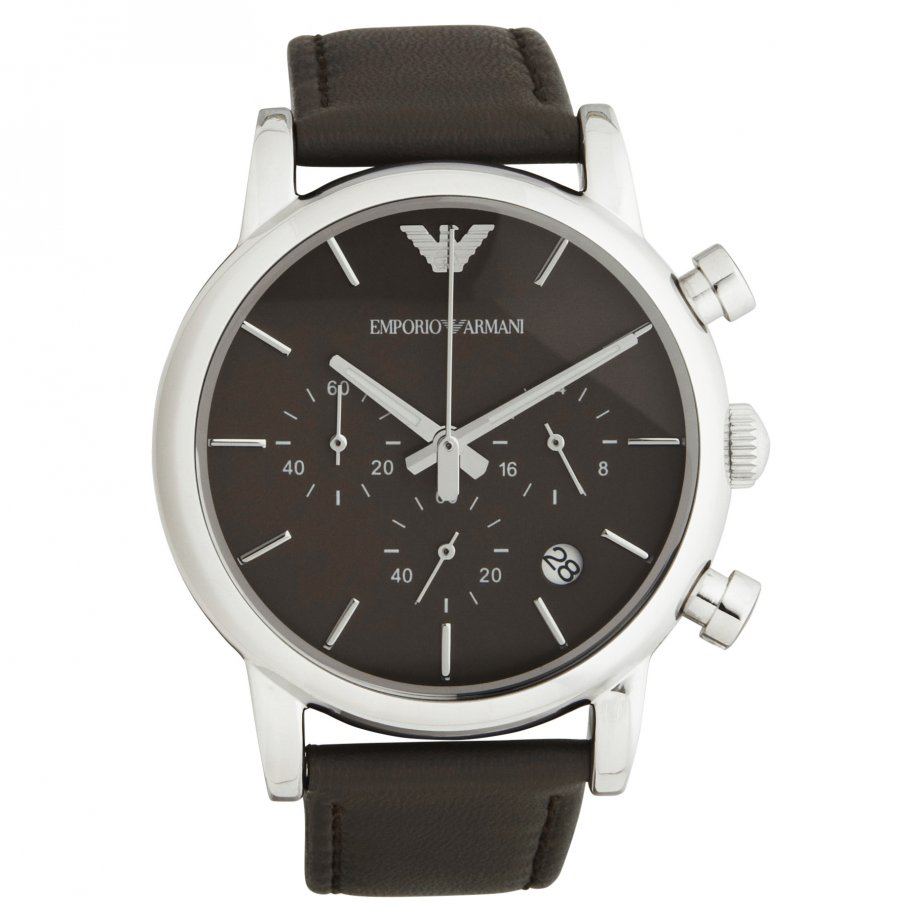 emporio armani gray chronograph ar1734 uk cheapest