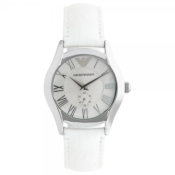 Armani White Watch