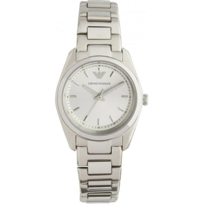 buy emporio armani stainless steel womens chronograph